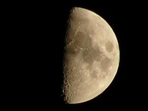 Měsíc, 21.října 2004
