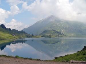 Zrcadlení vTrüebsee, Švýcarsko